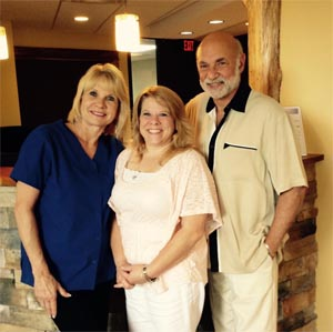 Dr. Greenberg, Kathy, and Jen